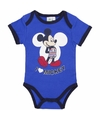 Geboorte kadootjes Mickey romper blauw