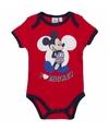 Geboorte kadootjes Mickey romper rood